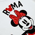 Camiseta infantil Roma Minnie Mouse, Disney Store