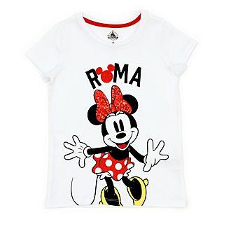 Disney Store T-shirt Minnie Rome pour enfants