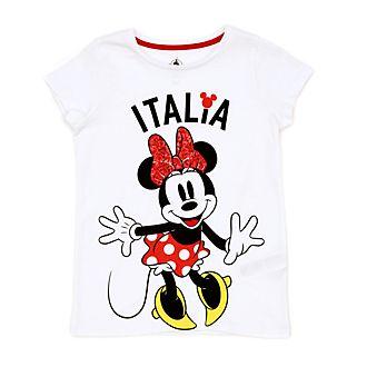 Disney Store - Minnie Maus - Italia T-Shirt für Kinder