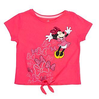 Camiseta infantil Minnie Mouse con nudo delantero, Disney Store