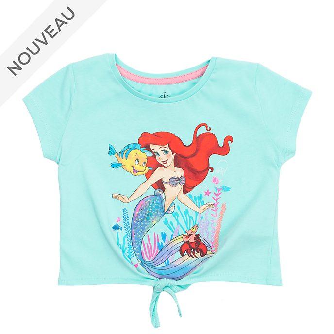 Disney Store T-shirt à nouer La Petite Sirène pour enfants