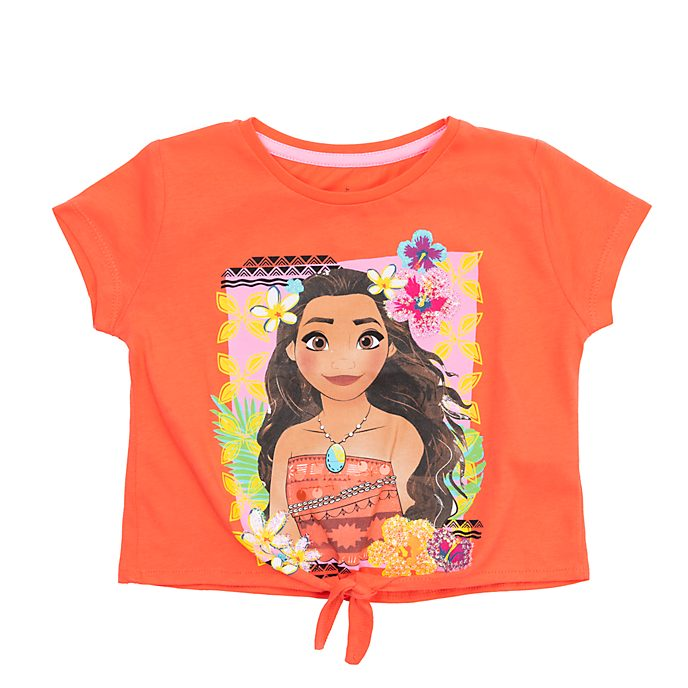 Disney Store Moana Tie-Front T-Shirt For Kids