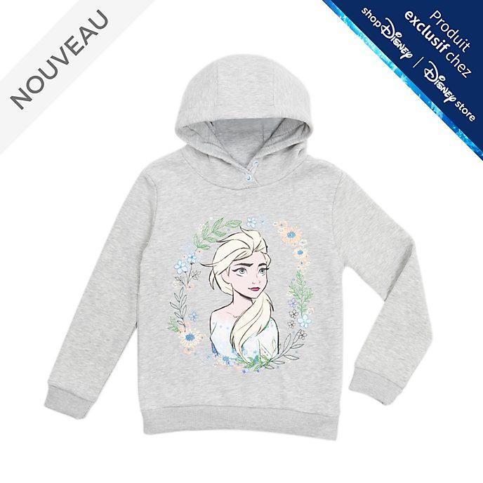 Disney Store Sweatshirt à capuche Elsa pour enfants, La Reine des Neiges2