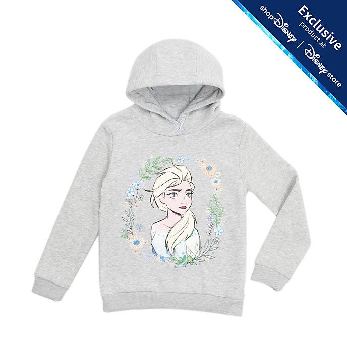 Disney Store Elsa Hooded Sweatshirt For Kids, Frozen 2