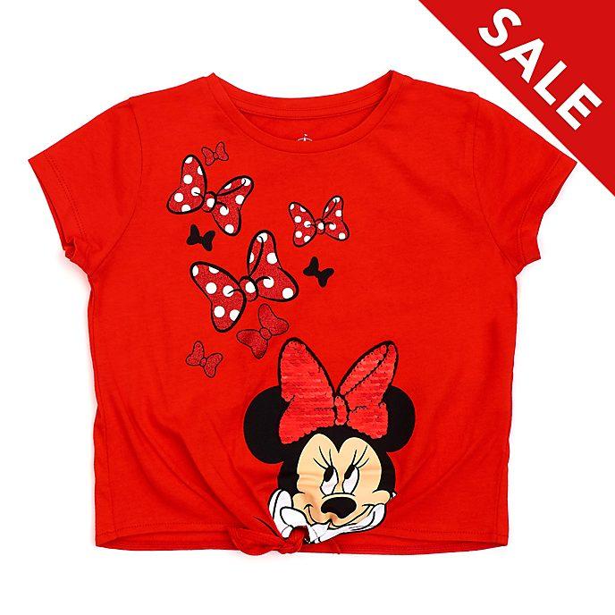 Disney Store - Minnie Maus - T-Shirt für Kinder mit Band zum Knoten