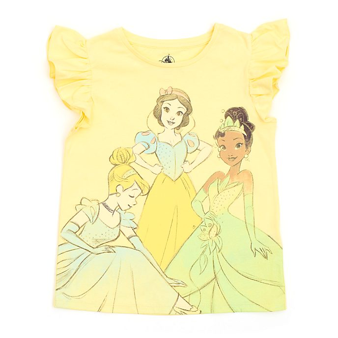 Disney Store T-shirt Princesses Disney pour enfants