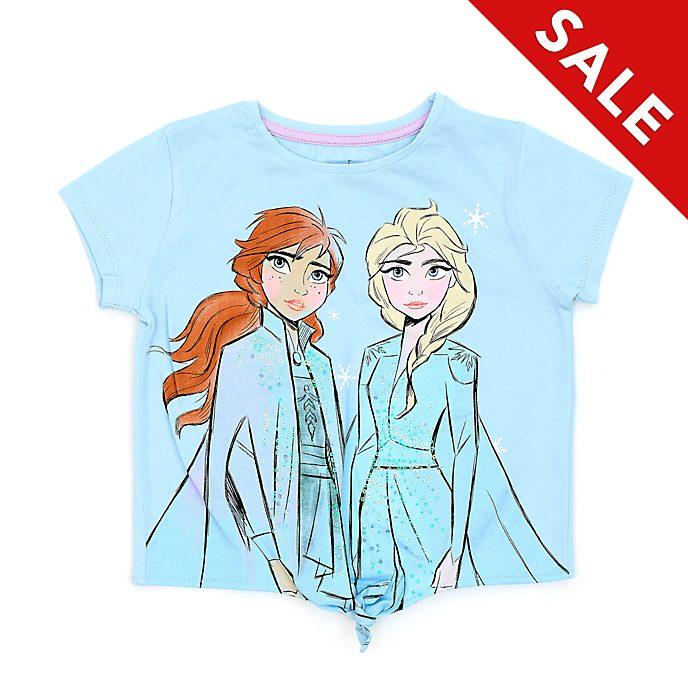 Disney Store Frozen 2 Tie-Front T-Shirt For Kids