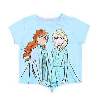 Disney Store - Die Eiskönigin2 - T-Shirt mit Band zum Knoten für Kinder