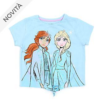 Maglietta bimbi annodata sul davanti Frozen 2: Il Segreto di Arendelle Disney Store