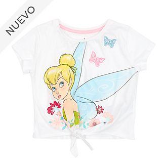 Camiseta infantil con nudo frontal Campanilla, Disney Store