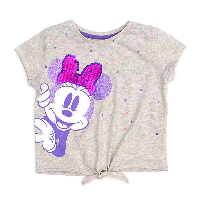 Camiseta infantil con nudo delantero Minnie Mouse Mystical, Disney Store