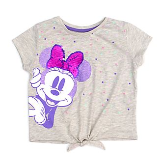 Disney Store Minnie Mouse Mystical Tie-Front T-Shirt For Kids