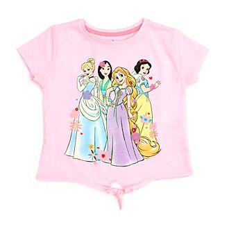 Camiseta infantil con nudo delantero princesas Disney, Disney Store