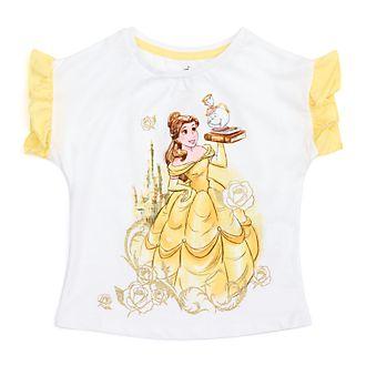 Camiseta infantil Bella, La Bella y la Bestia, Disney Store