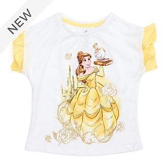 Disney Store Belle T-Shirt For Kids, Beauty and the Beast