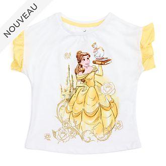 Disney Store T-shirt Belle pour enfants, La Belle et la Bête