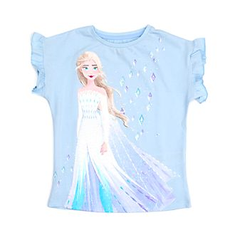 Disney Store Elsa the Snow Queen T-Shirt For Kids, Frozen 2