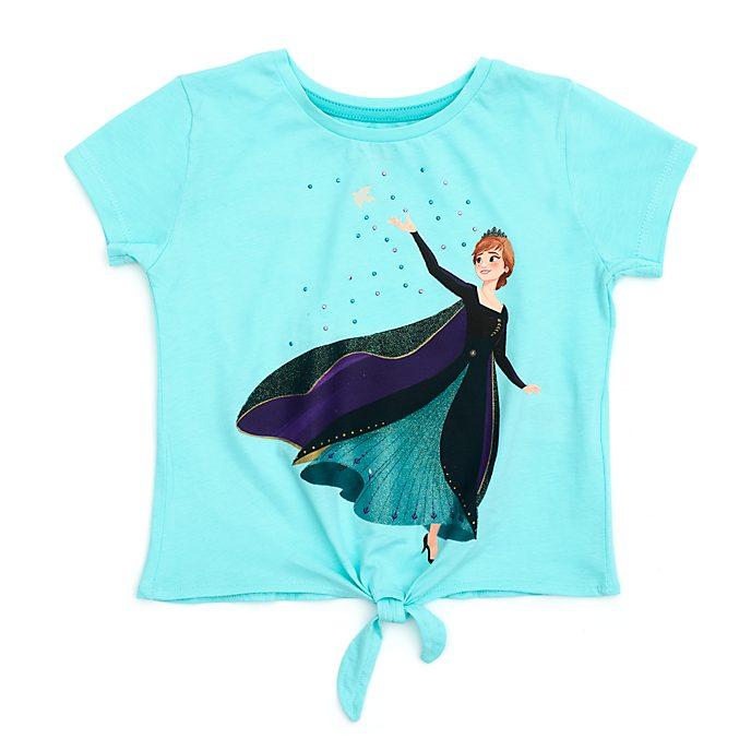 Disney Store T-shirt à nouer Reine Anna pour enfants, La Reine des Neiges2