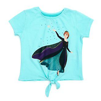 Camiseta infantil con nudo delantero Reina Anna, Frozen 2, Disney Store