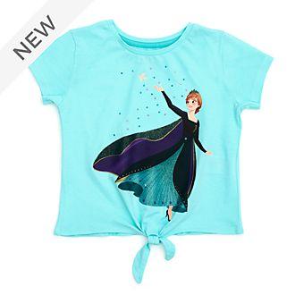 Disney Store Queen Anna Tie-Front T-Shirt For Kids, Frozen 2
