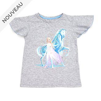 Disney Store T-shirt Elsa et Nokk pour enfants, La Reine des Neiges2