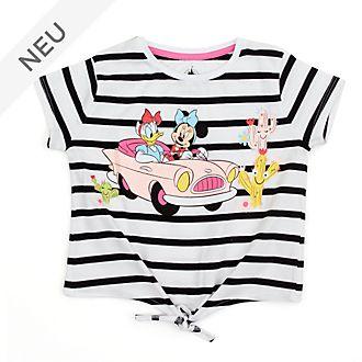 Disney Store - Minnie und Daisy - T-Shirt zum Knoten für Kinder mit Band