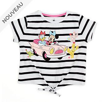 Disney Store T-shirt à nouer Minnie et Daisy pour enfants