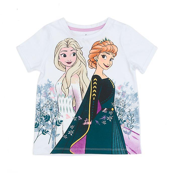 Camiseta infantil Anna y Elsa, Frozen2, Disney Store