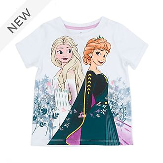 Disney Store Anna and Elsa T-Shirt For Kids, Frozen 2