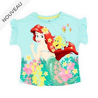 Disney Store T-shirt La Petite Sirène pastel pour enfants