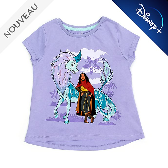 Disney Store T-shirt Raya et Sisu T-Shirt pour enfants