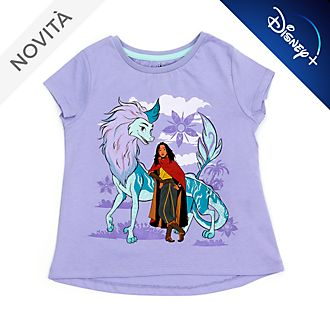 Maglietta bimbi Raya e Sisu Disney Store