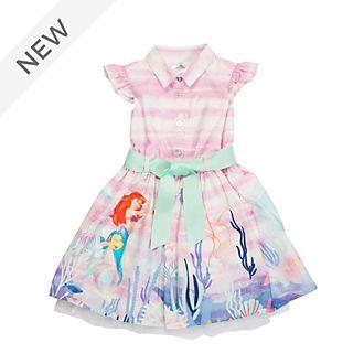 Disney Store The Little Mermaid Printed Dress For Kids