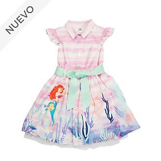 Vestido estampado infantil La Sirenita, Disney Store