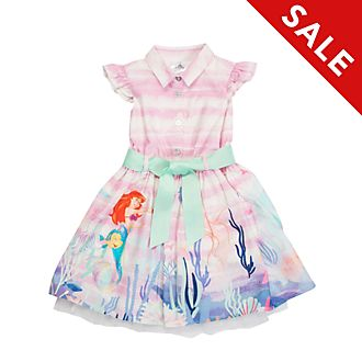 Disney Store The Little Mermaid Printed Dress For Kids