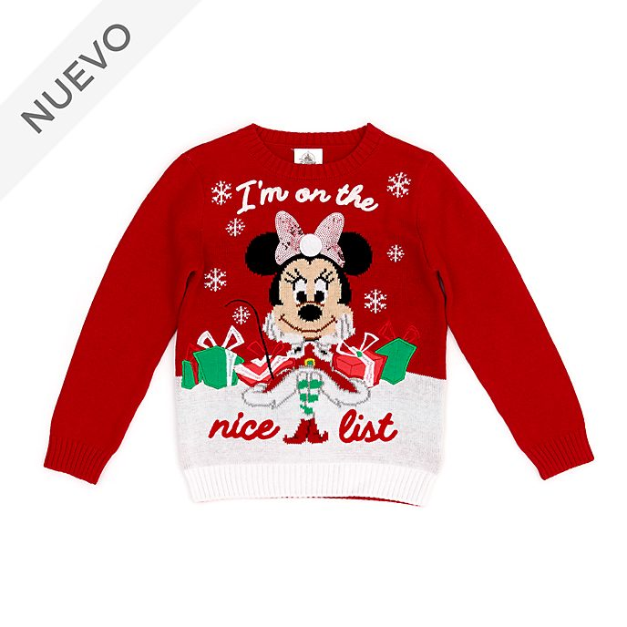 Jersey infantil Minnie Mouse, Holiday Cheer, Disney Store