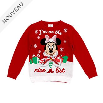 Disney Store Pull Minnie pour enfants, Holiday Cheer