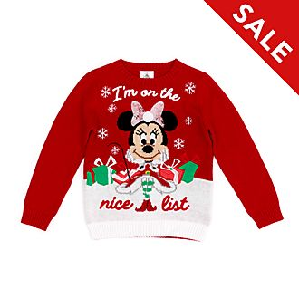 Disney Store - Holiday Cheer - Minnie Maus - Pullover für Kinder