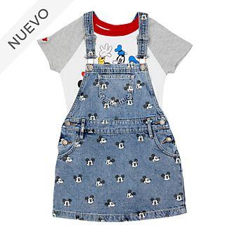 Conjunto infantil camiseta y vestido Mickey y sus amigos, Disney Store