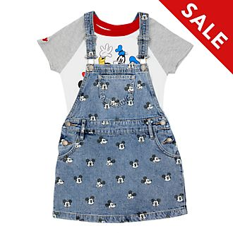 Disney Store Mickey and Friends T-Shirt and Dress Set For Kids