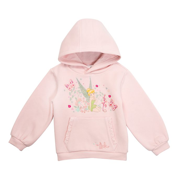 Disney Store Tinker Bell Hooded Sweatshirt For Kids