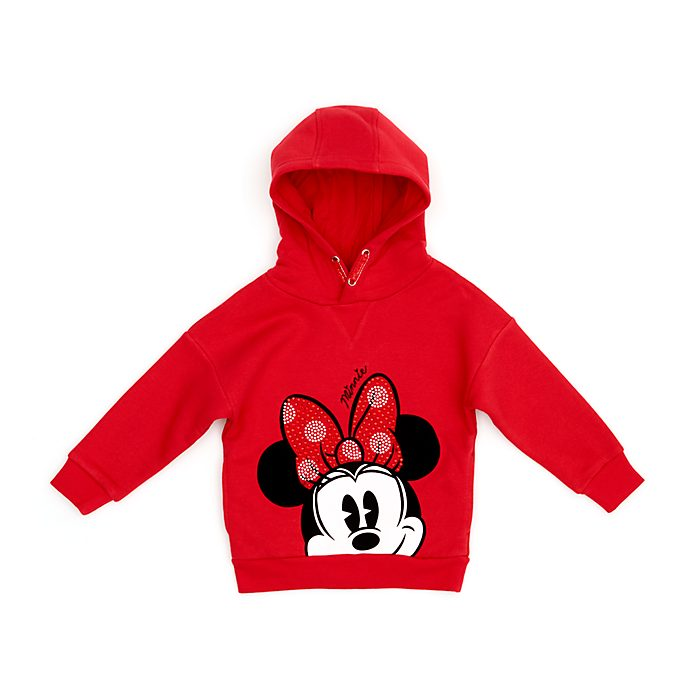 Disney Store Sweat à capuche Minnie pour enfants