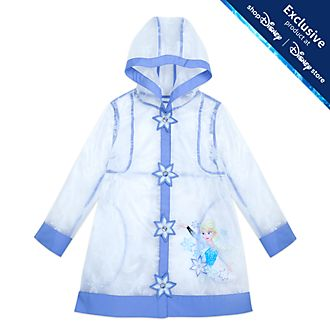 Disney Store Elsa Raincoat For Kids, Frozen 2
