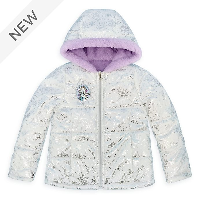 Disney Store Frozen 2 Quilted Jacket For Kids