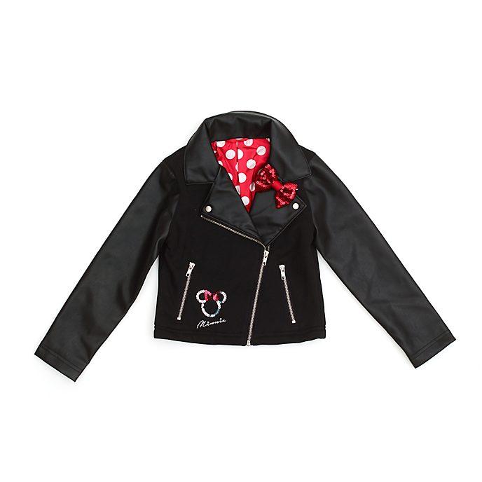 Disney Store Minnie Mouse Biker Jacket For Kids