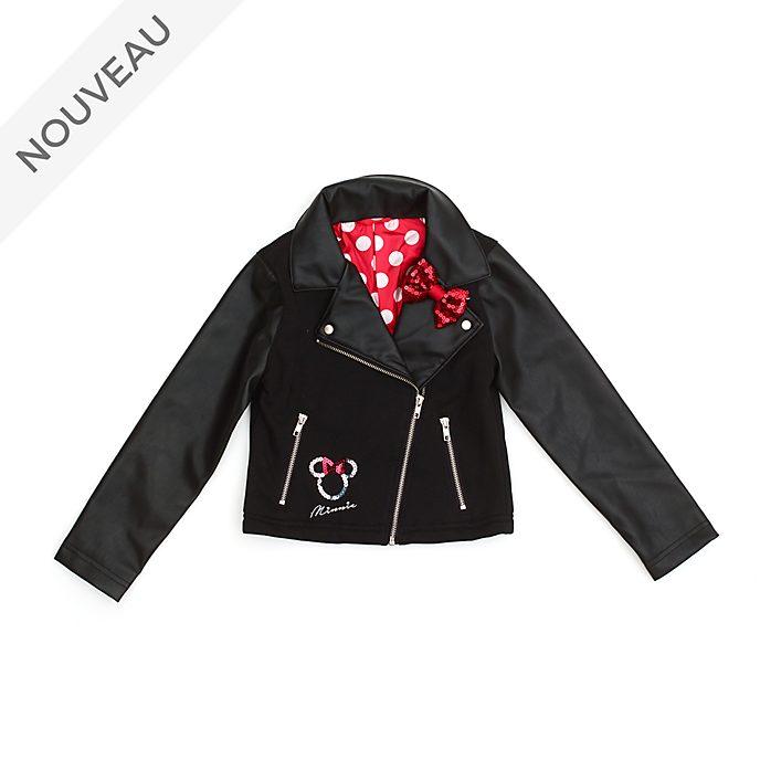Disney Store Blouson de motard Minnie pour enfants