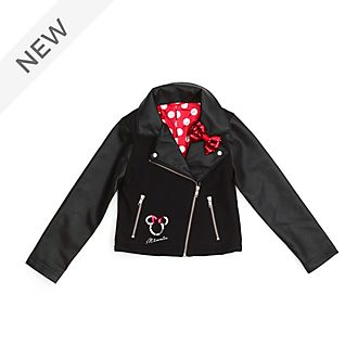 Disney Store Minnie Mouse Biker Jacket For Kids