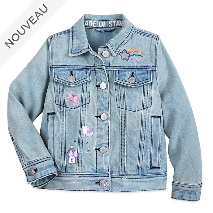 Disney Store Blouson en jean Minnie Mystical pour enfants