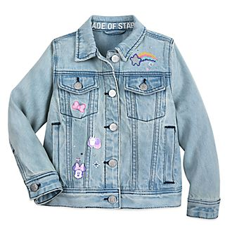 Disney Store Minnie Mouse Mystical Denim Jacket For Kids