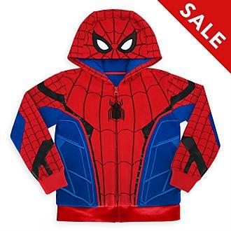 Disney Store Spider-Man Hooded Sweatshirt For Kids